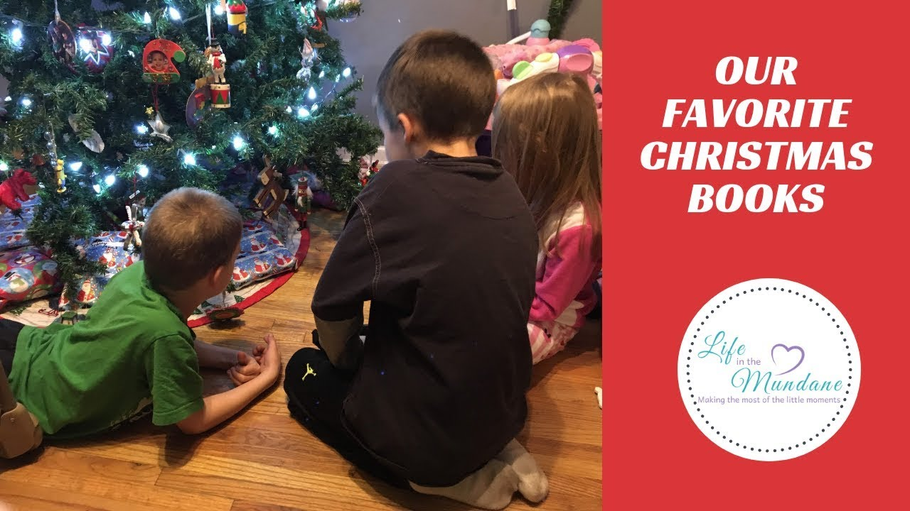 Our Favorite Christmas Books Christ Centered Christmas Youtube