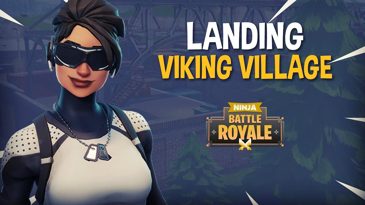 Landing Viking Village!! - Fortnite Battle Royale Gameplay - Ninja