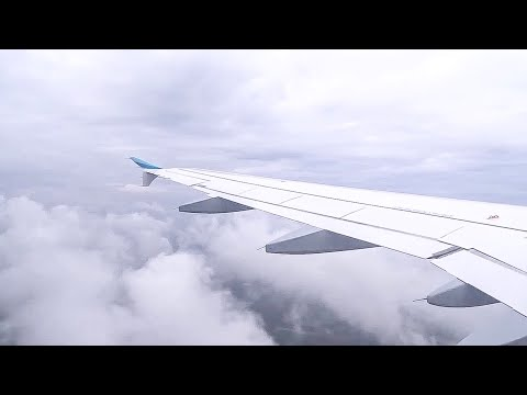 Eurowings A320 Stunning Rainy Takeoff from Düsseldorf!