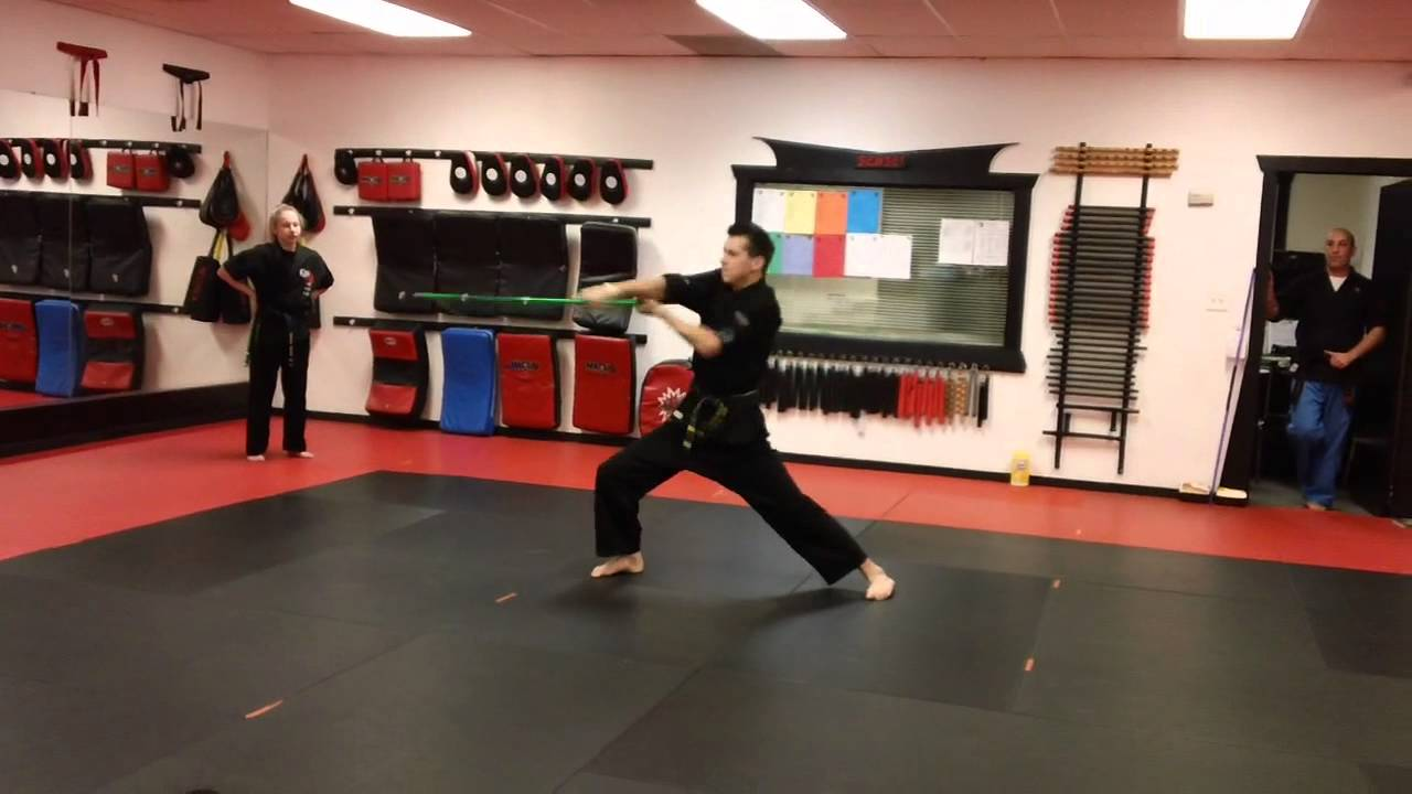 Jackson Rudolph 2013 - Bo Staff Form at Epic Martial Arts - YouTube