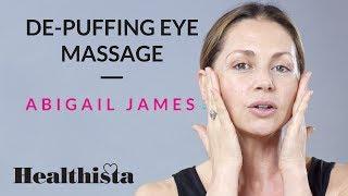Leading celebrity facialist Abigail James brings you a de-puffin ey...