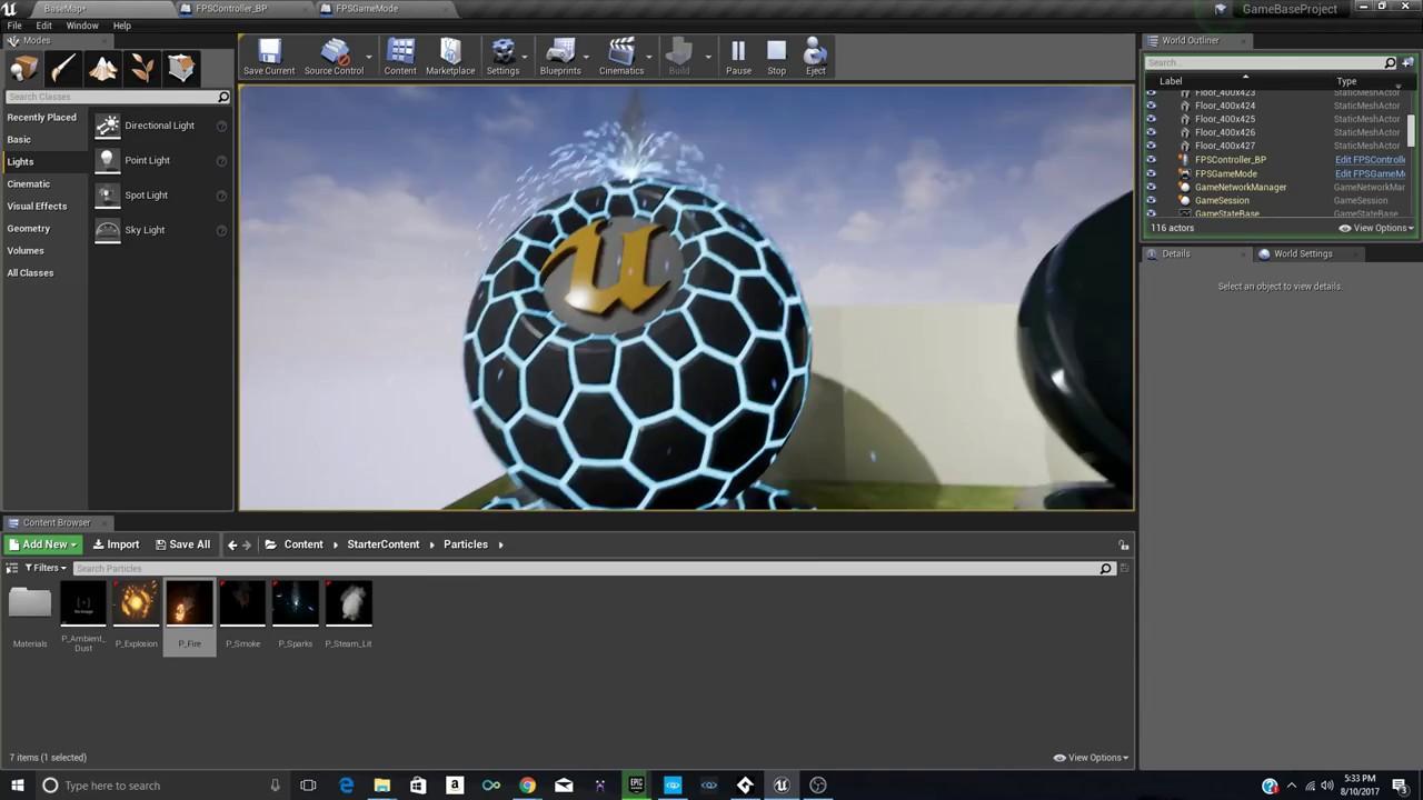 starter showcase speedbuild unreal engine  youtube