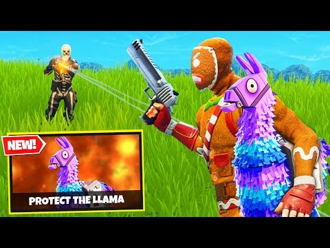 PROTECT THE LLAMA Custom Gamemode in Fortnite Battle Royale