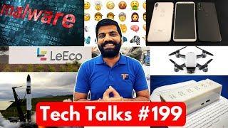 Tech Talks #199 - Lava Z10, Dji Spark, Twitter Emoji 5.0, Mi Max 2, Subtitle Malware, iPhone 8