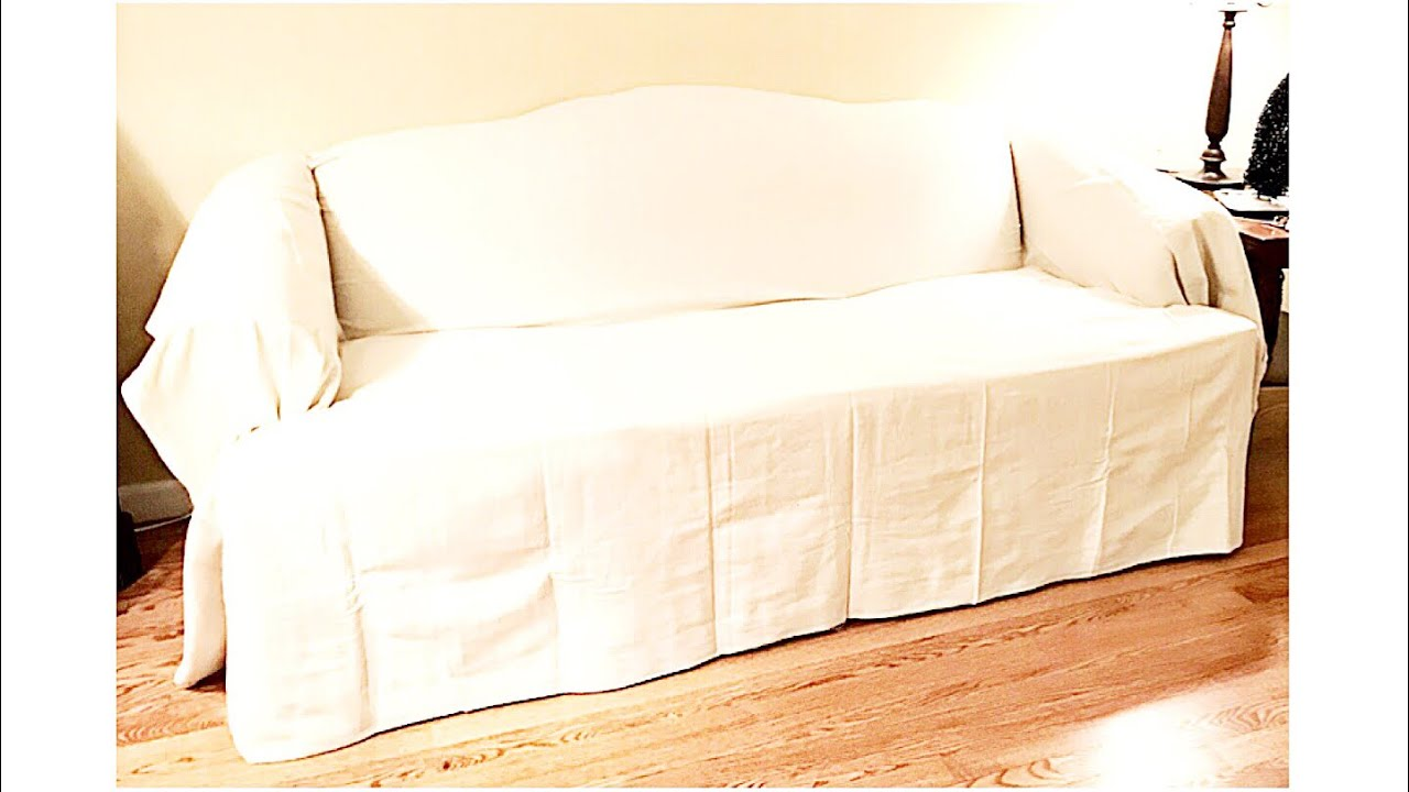 Home Decor Drop Cloth Sofa Covers An Easy Inexpensive Way To Change Up Your Room