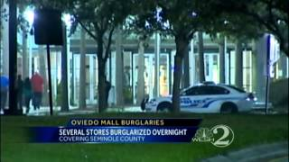 Thieves hide in Oviedo Mall after closing, hit jewelry store