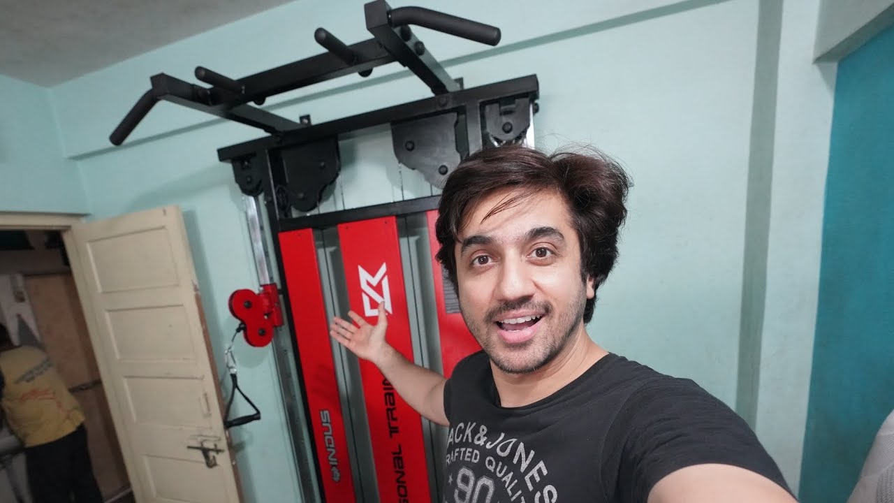 MY SUPER SMART HOME GYM IS READY !!