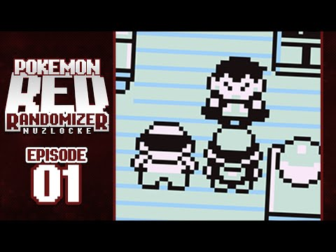 CHOOSE MY STARTER! - Pokemon Red Randomizer Nuzlocke w/ GameboyLuke!! - Episode 01