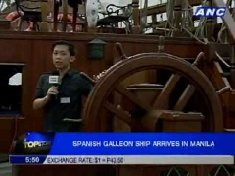 Spanish Galleon ship in Manila