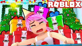 EVIL CHRISTMAS GIFTS WANT ME TO EAT 🎁😱 Roblox Evil Present Simulator