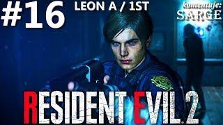 Zagrajmy w Resident Evil 2 Remake PL | Leon A | odc. 16 - Sadzonka 43 | Hardcore