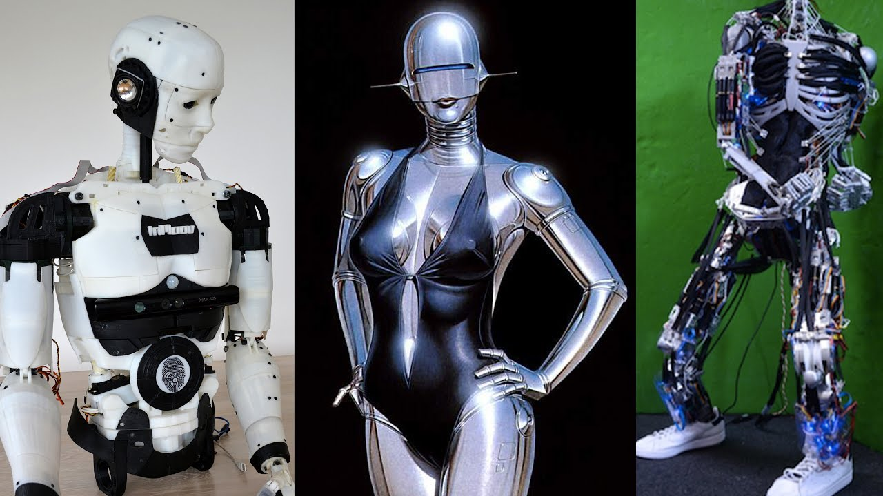 Best 5 Humanoid Robots 2017, You'll Intend to Buy in Future - Inmoov, EZ  Robot, Poppy, Plen 2,