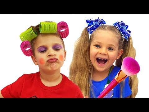 Diana Pretend Play with Kids Makeup kits