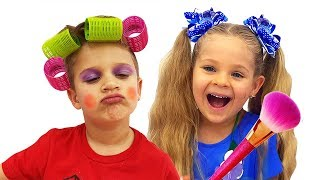 Diana Pretend Play with Kids Makeup kits
