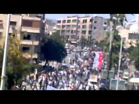 حماة hama syrian revolution 17-06-2011...