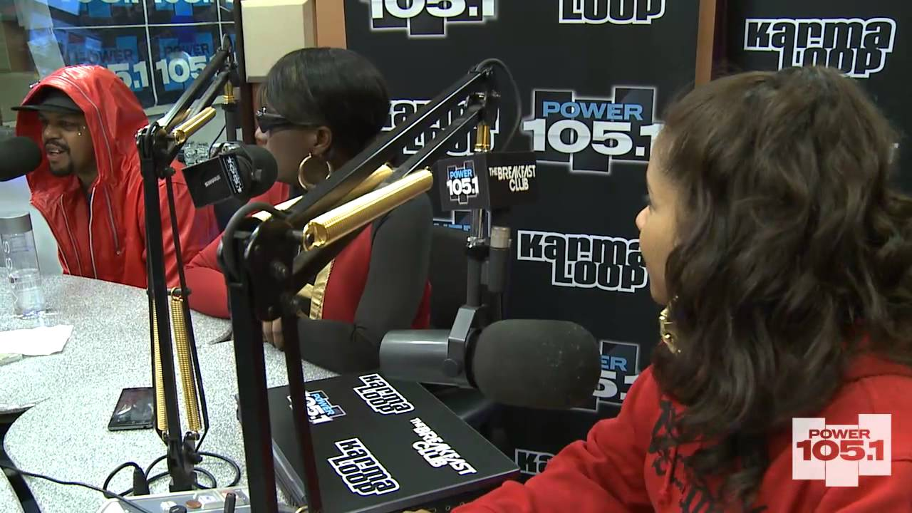 DJ Paul and Gangsta Boo at The Breakfast Club Power 105.1