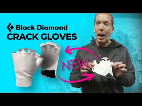 All New Black Diamond Crack Gloves