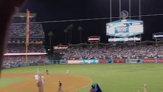 Justin Turner walk-off home run 10.15.17 Dodgers Cubs NLCS
