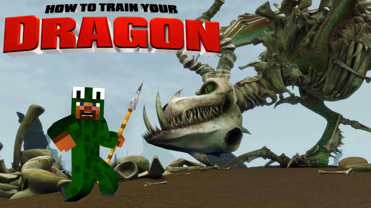 Minecraft - HOW TO TRAIN YOUR DRAGON 2 - [6] 'Boneknapper ...