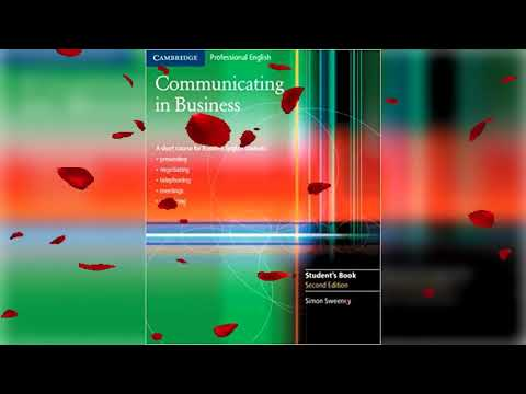 Cambridge Communicating In Business Student's Book 2nd Edition CD1