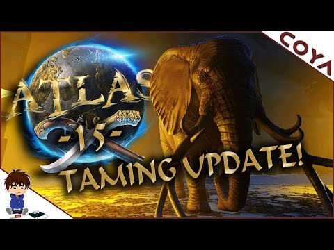 ATLAS #15 - Einen Elefant zähmen - Taming Update! • Atlas Deutsch, German Gameplay
