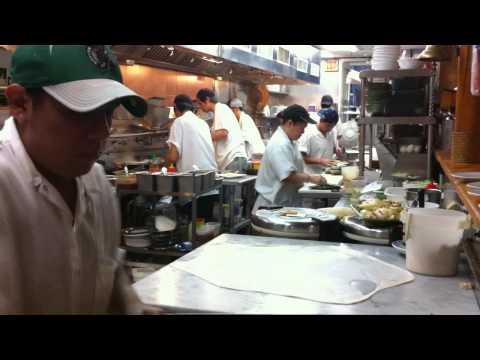 Making of Roti Kanai at Penang, Chinatown, Boston