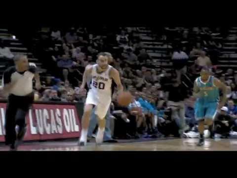 Hornets vs Spurs 2010 NBA Season 10/30/2010