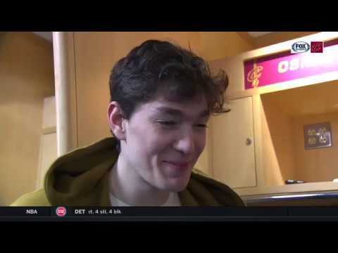 Cedi Osman can't wait for The Q to be jumping in playoffs | CAVS-KNICKS POSTGAME