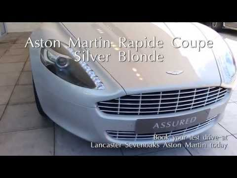 Jardine Motors Group | Aston Martin Rapide Coupe Silver Blonde ...