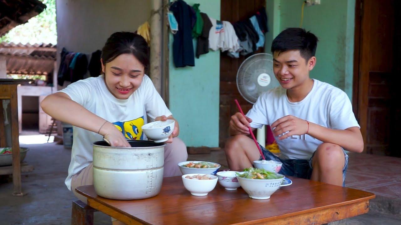 Râu tôm nấu với ruột bầu, chồng chan vợ húp gật đầu khen ngon