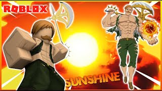 I Became The One And Only Escanor | Roblox SDS Holy War|