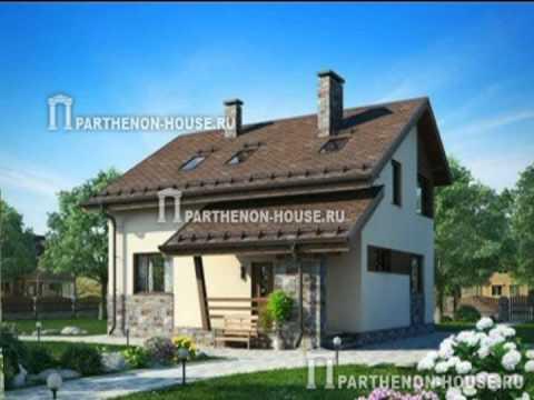 Проекты каркасных домов из СИП SIP панелей в Украине