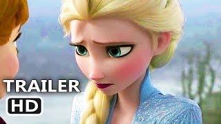 Frozen 2 New Trailer 2019 Disney Animated Movie Hd
