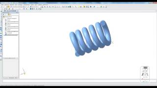 Построение пружины сжатия с поджатыми и сошлифованными витками в КОМПАС-3D