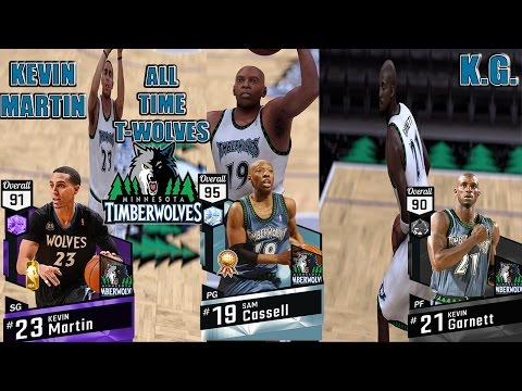 DIAMOND SAM CASSELL & AMETHYST KEVIN MARTIN DEBUT | ALL TIME TIMBERWOLVES | MY TEAM ONLINE