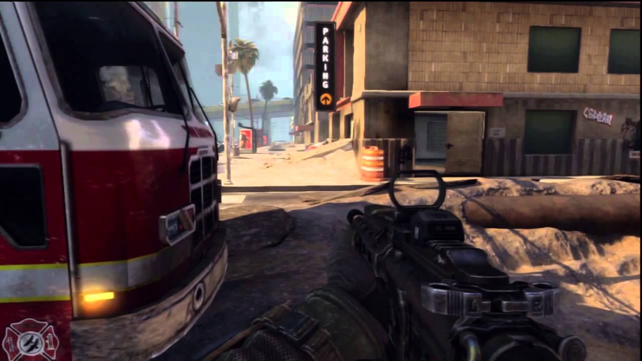 Call Of Duty Black Ops 2 Online Multiplayer PS3 Midnight release gameplay