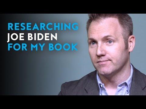 Researching Joe Biden for my book | Author Jeff Wilser