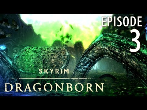 Skyrim: Dragonborn DLC in 1080p, Part 3: Approaching Temple of Miraak (Let's Play for PC)