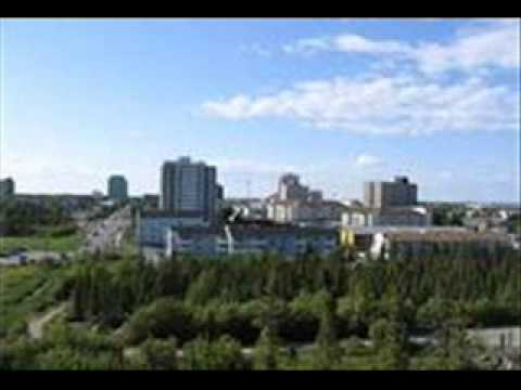 The city of Yellowknife, Northwest Territories
