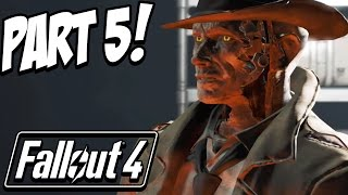 Fallout 4 Walkthrough Gameplay Part 5 - VAULT 114!  (Let's Play, Playthrough)