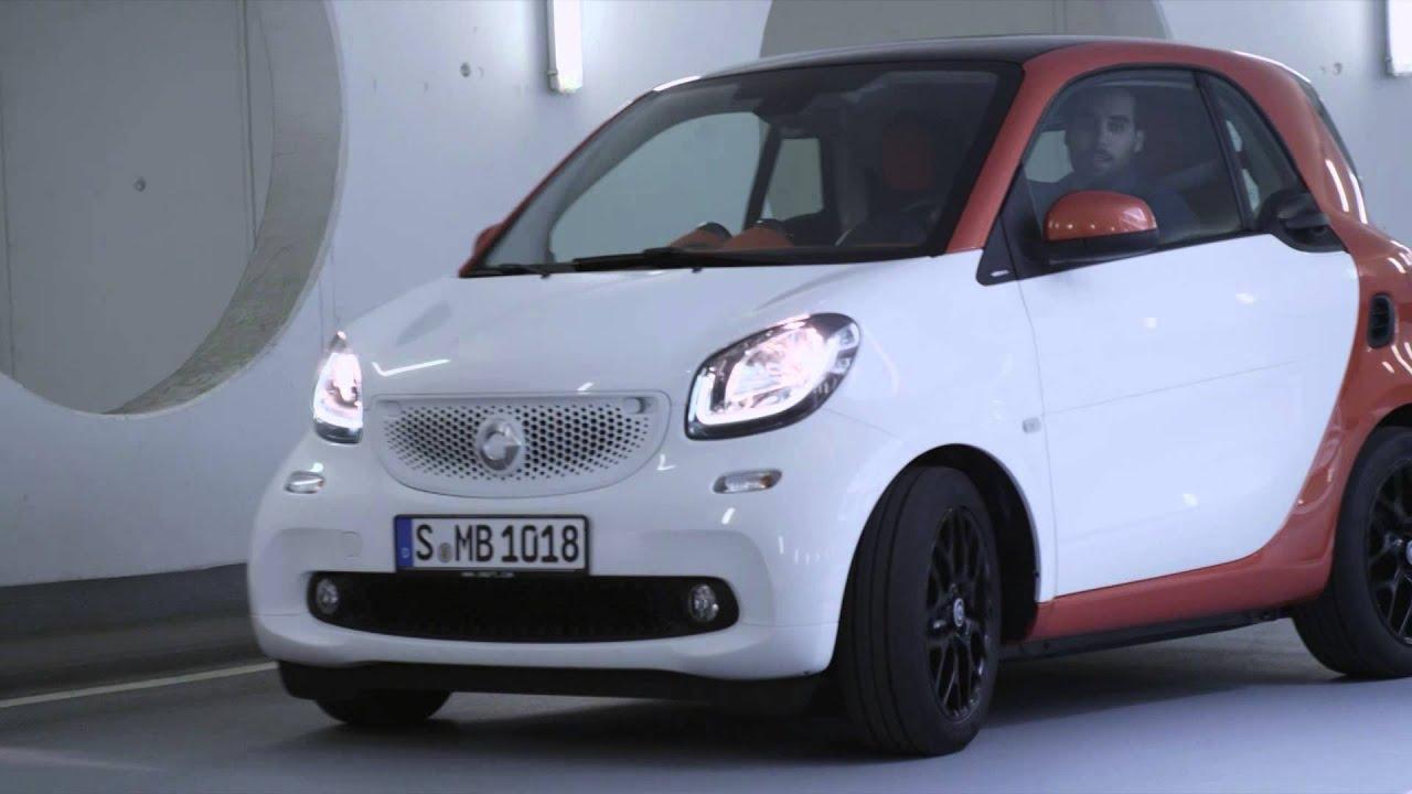 Mercedes Smart Car >> New Smart Fortwo Driving Design