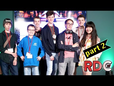 Roblox Tournament and Game Jam at Roblox Developers Conference RDC UK - DOLLASTIC PLAYS!