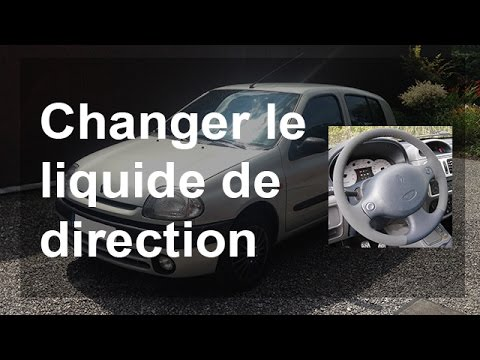 changer vidanger le liquide de direction renault clio 2 youtube. Black Bedroom Furniture Sets. Home Design Ideas