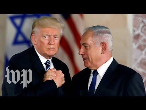 Trump's Praise For Israel's Embattled Prime Minister Benjamin Netanyahu