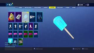 New LIL WHIP SKIN and ICE POP PICKAXE!!!