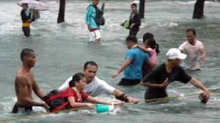 Typhoon Ondoy in Manila , Marikina , Cainta ... Sept 26 2009... Philippines