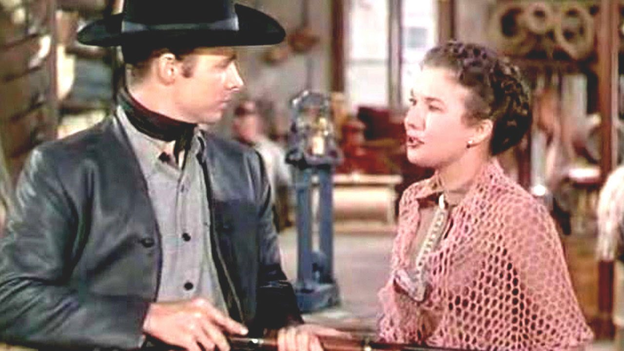 The Kid From Texas Western Movie, Classic, Feature Film -8812