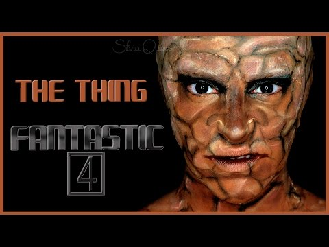 The Thing from the Fantastic 4 FX makeup | Silvia Quiros