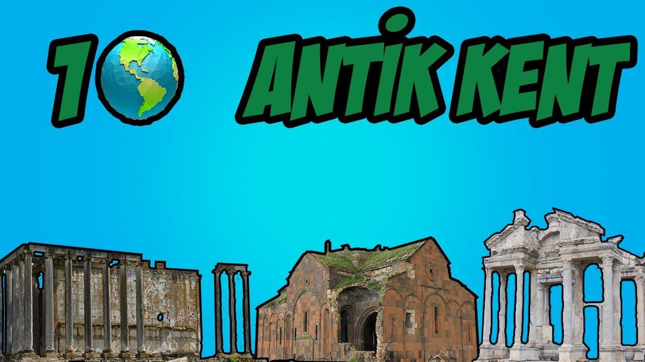 TÜRKİYE'NİN MÜTHİŞ GÜZELLİKTEKİ ANTİK KENTLERİ !!!