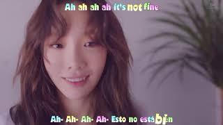 Taeyeon snsd 'fine' mv sub español